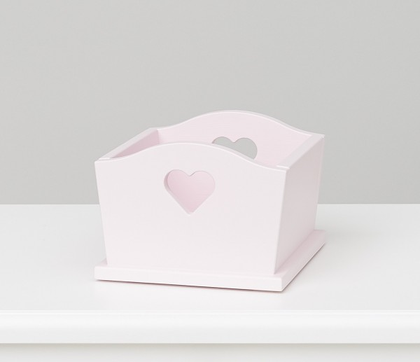 Herzbox rosa