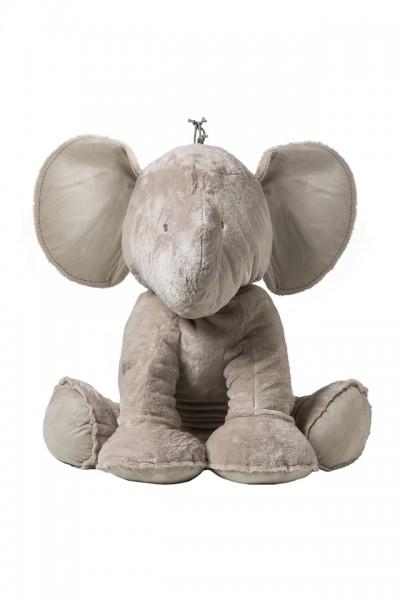 Elefant Ferdinad taupe 90cm