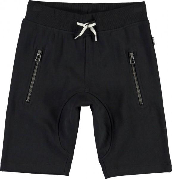 Sweat-Bermuda schwarz