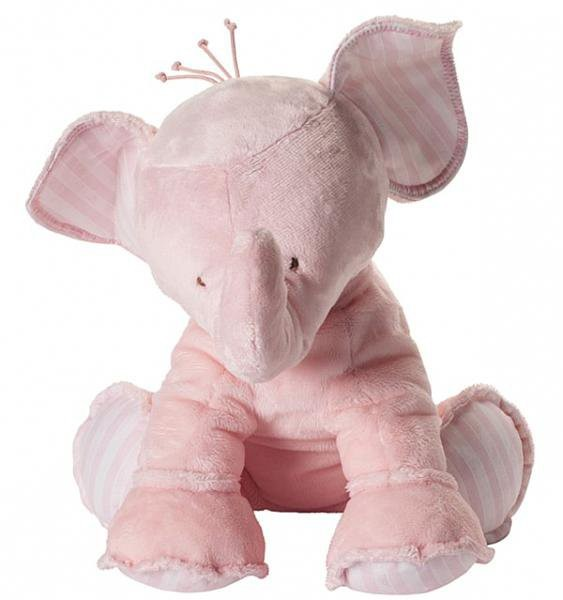 Elefant Ferdinand rosa 35cm