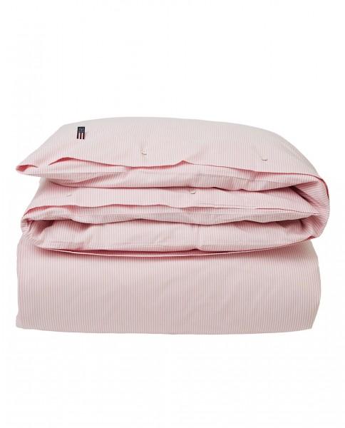 Pin Point Deckenbezug Streifen rosa 135x200