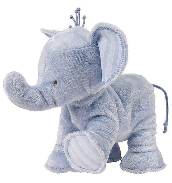 Elefant Ferdinand blau 25cm