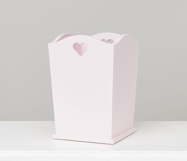 Papierkorb rosa