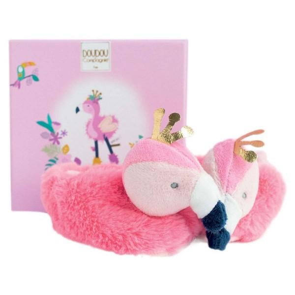 Baby-Schuhe Flamingo