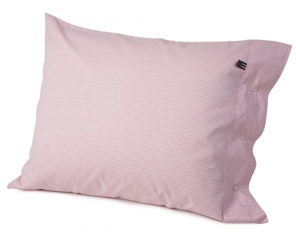 Pin Point Kissenberzug Streifen rosa 80x80