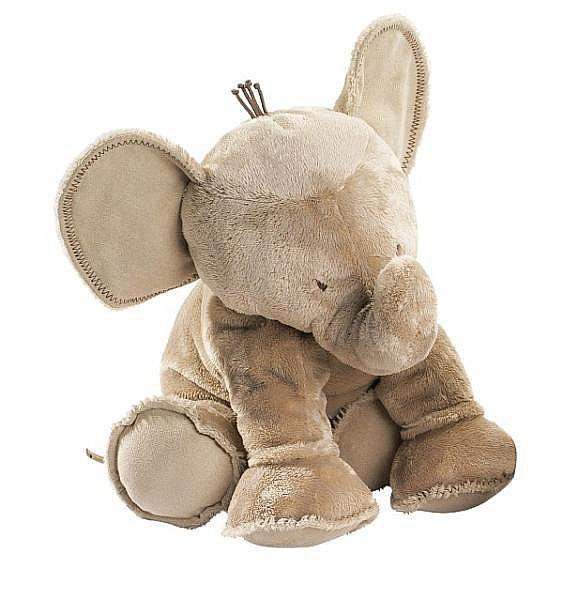 Elefant Ferdinand taupe 25cm