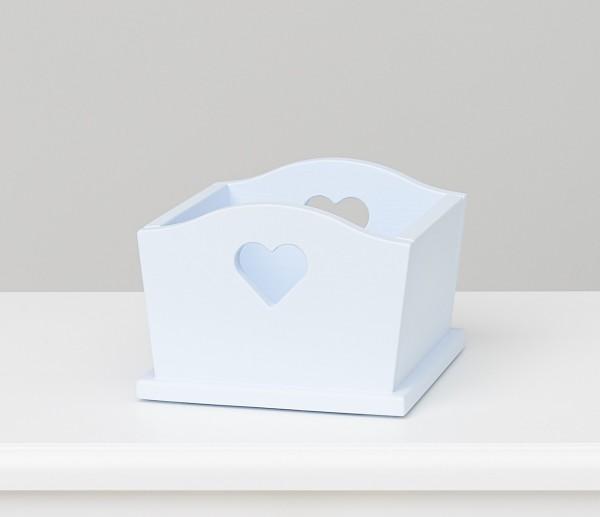 Herzbox blau