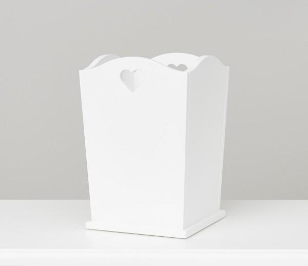 Papierkorb weiß