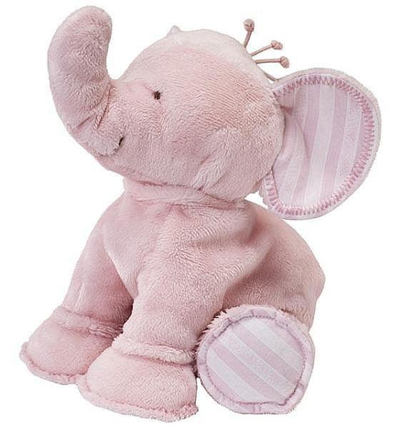 Elefant Ferdinand rosa 25cm