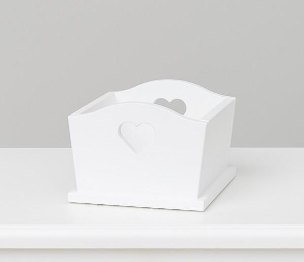 Herzbox weiß